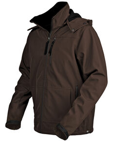 STS Ranchwear Men's Brown Barrier Jacket - Big , Brown, hi-res