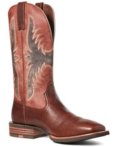 Ariat Men's Crosswire Hickory Western Boots - Square Toe, Brown, hi-res