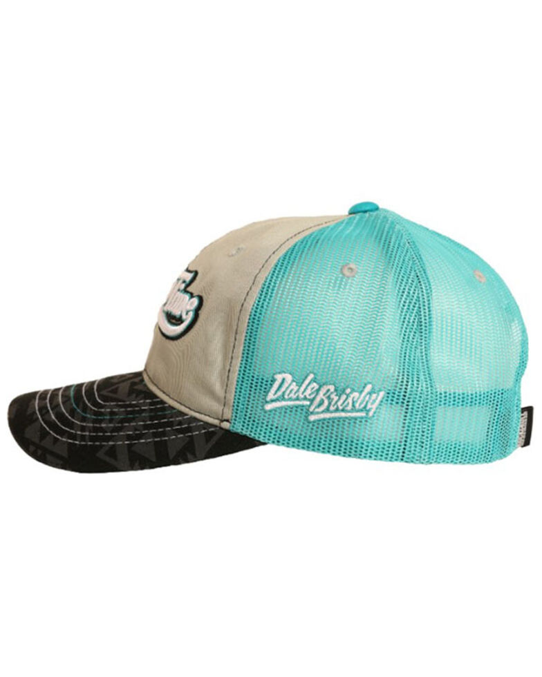 Dale Brisby Men's Rodeo Time Embroidered Mesh-Back Trucker Cap , Grey, hi-res