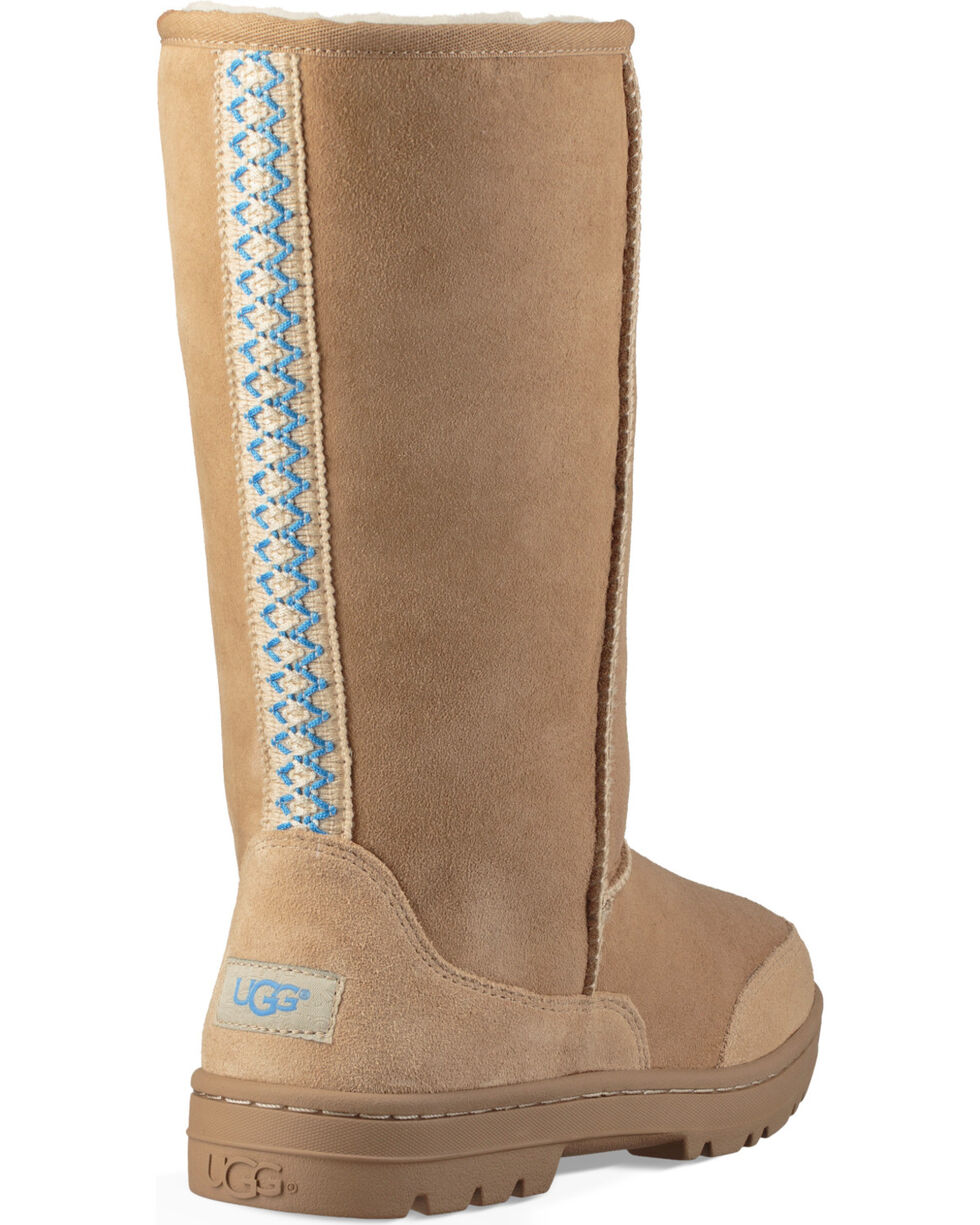 UGG Women's Sand Ultra Tall Revival Boots , Brown, hi-res