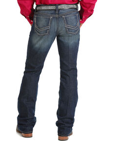 Cinch Men's Ian Slim Boot Cut Performance Jeans, Indigo, hi-res