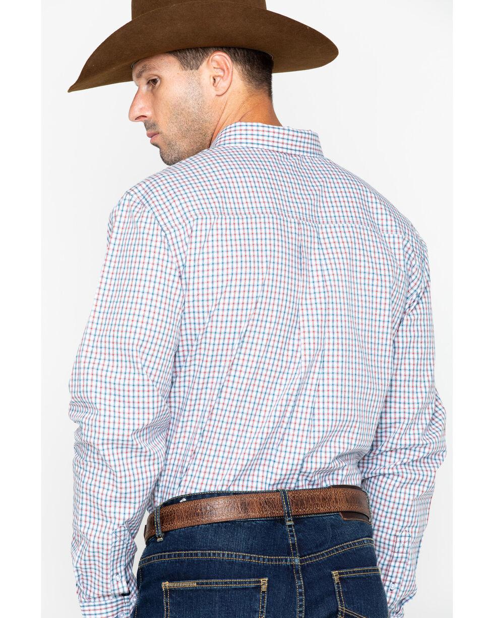 Cody Core Men's Plaid Long Sleeve Grey's Peak Shirt , Blue/white, hi-res