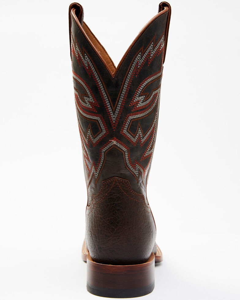 Cody James Men's Big Daddy Western Boots - Wide Square Toe, Chocolate, hi-res