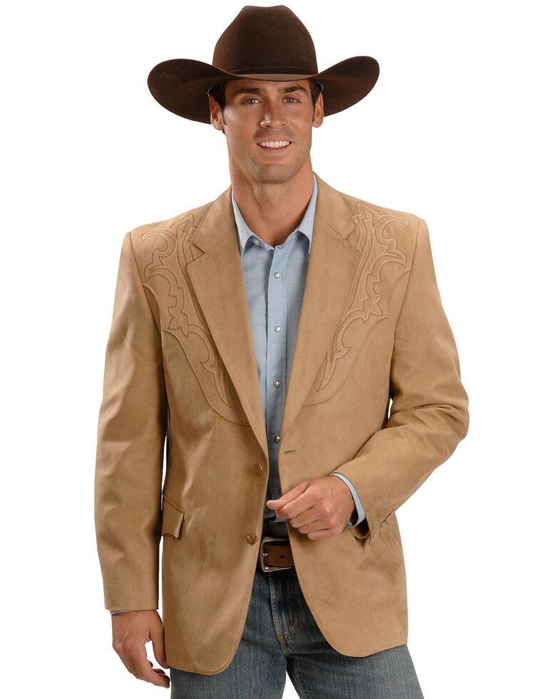 Circle S Galveston Sport Coat - Reg, Tall, Tan, hi-res