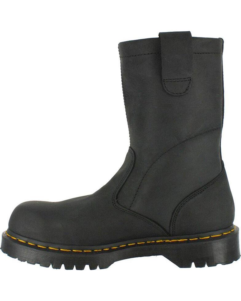Dr. Martens Men's Icon Ex Wide Wellington Work Boots - Steel Toe, Black, hi-res