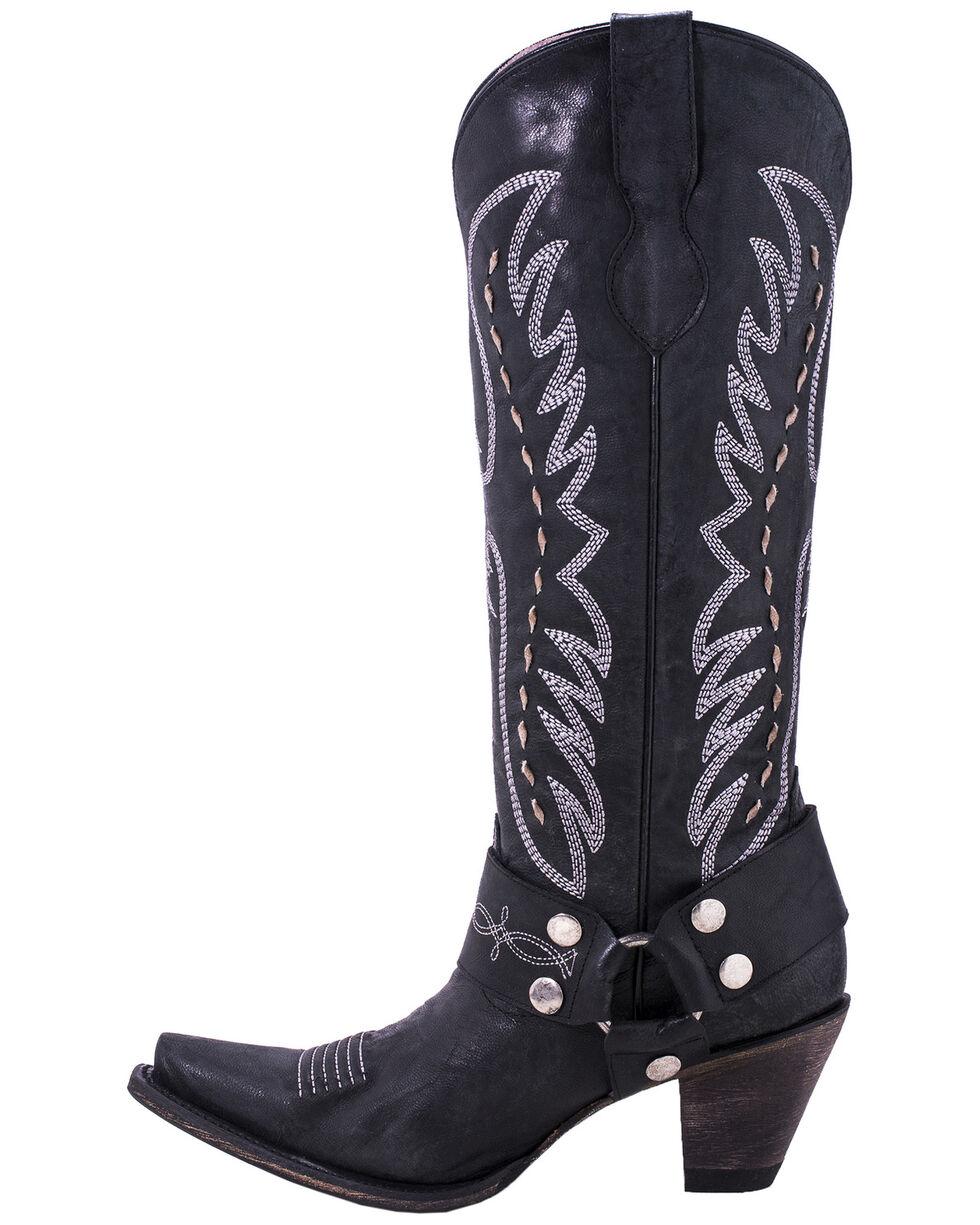 Junk Gypsy by Lane Women's Vagabond Western Boots - Snip Toe, Black, hi-res
