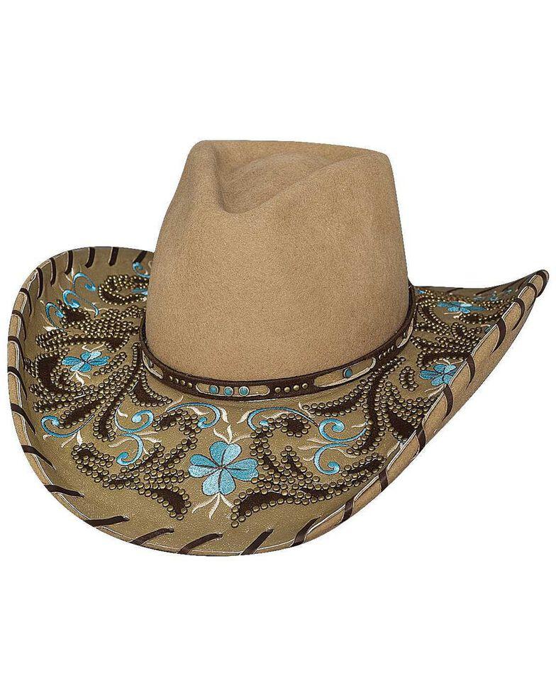 Bullhide Always On My Mind Wool Cowgirl Hat, Camel, hi-res