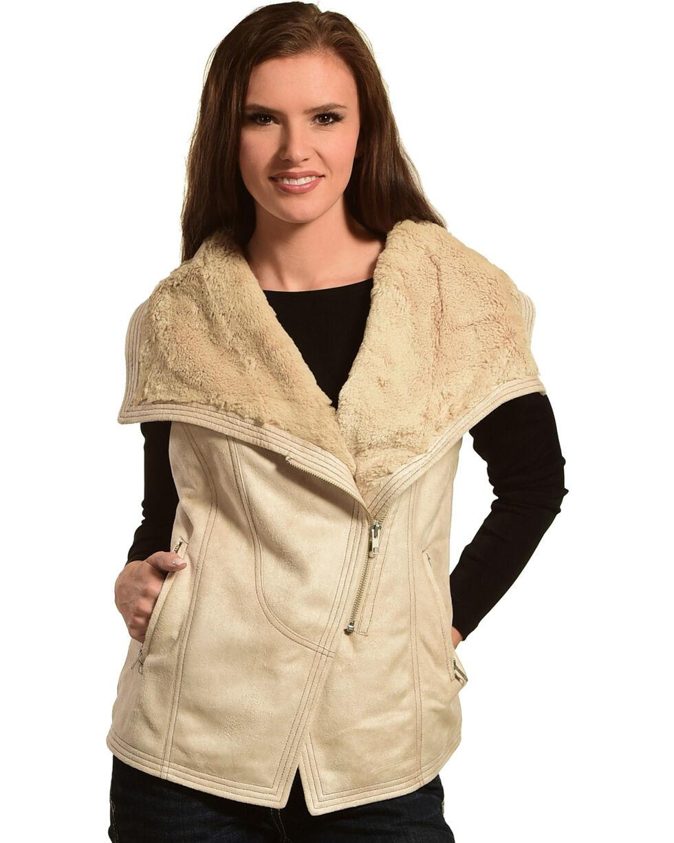 Tasha Polizzi Women's Wheat Renegade Vest , Lt Brown, hi-res