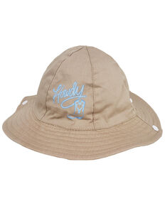 Peter Grimm Boys' Blue Howdy Bucket Hat, Beige/khaki, hi-res