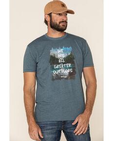 ATG™ by Wrangler Men's All Terrain Greater Outdoor Graphic Short Sleeve T-Shirt , Green, hi-res