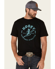 HOOey Men's Black Electric Cowboy Graphic T-Shirt , Black, hi-res