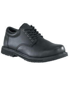 Grabbers Men's Friction Work Shoes, Black, hi-res