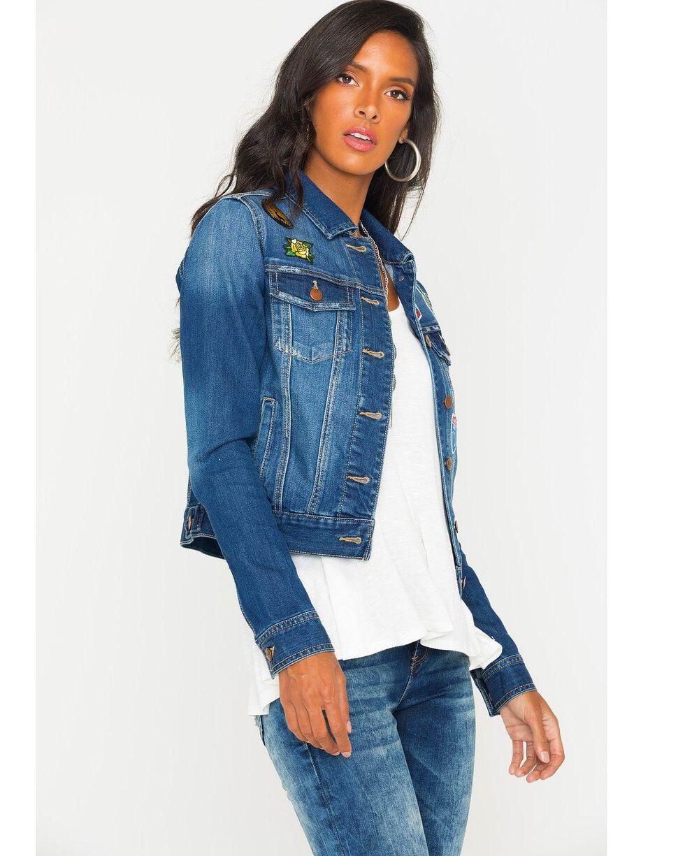 Wrangler Women's Denim Patch Jacket , Indigo, hi-res