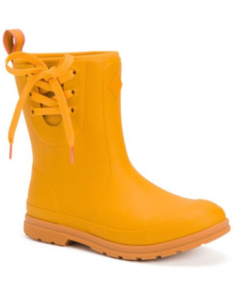 Muck Boots Women's Yellow Muck Originals Rubber Boots - Soft Toe, Yellow, hi-res
