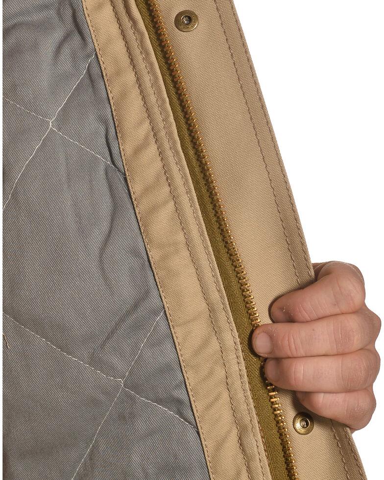 Ariat Men's FR Lined Workhorse Work Jacket - Tall, Beige/khaki, hi-res
