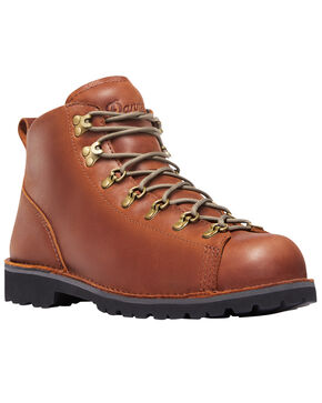 Danner Men's Light Brown North Fork Rambler Boots - Round Toe , Lt Brown, hi-res