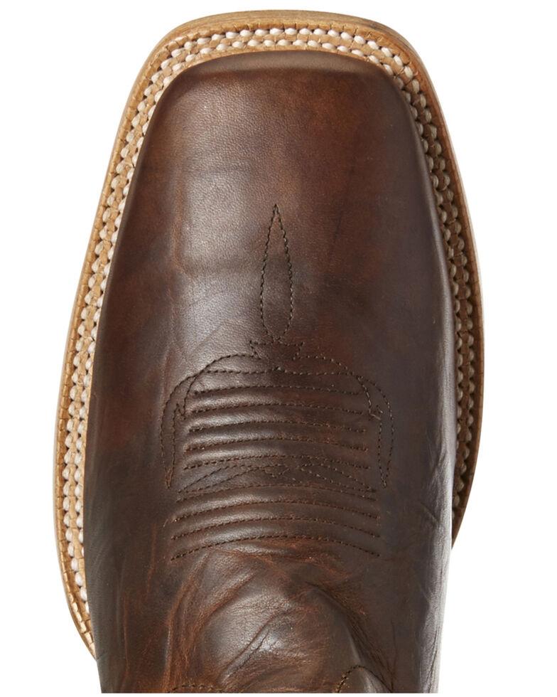Ariat Men's Elite Rich Clay Western Boots - Wide Square Toe, Tan, hi-res