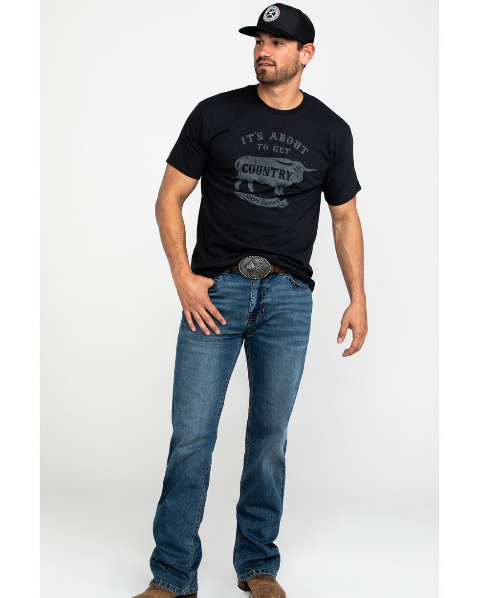 Cody James Men's Get Country Graphic T-Shirt , , hi-res