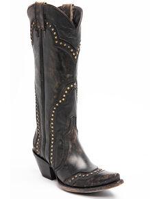 Idyllwind Women's Rite A Way Western Boots - Snip Toe, Black, hi-res