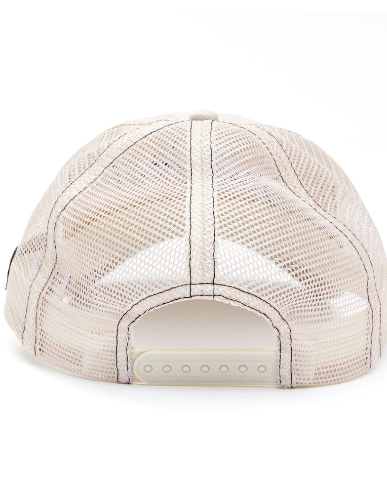 Shyanne Women's Go West Embroidered Mesh-Back Ball Cap , Cream, hi-res