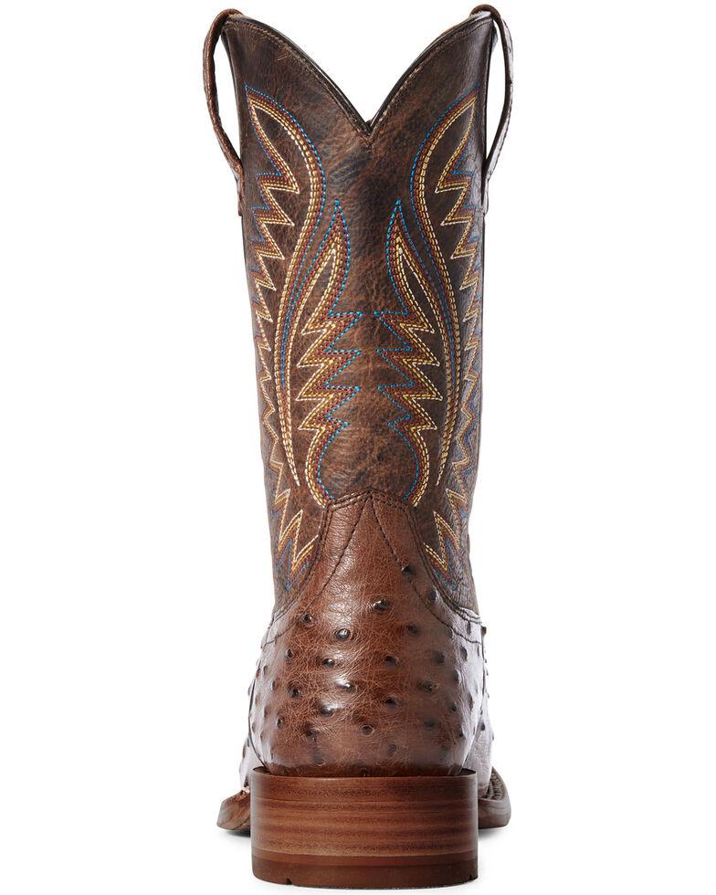 Ariat Men's Gallup Mocha Western Boots - Wide Square Toe, Brown, hi-res
