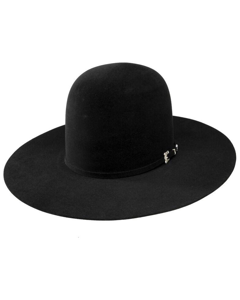 RESISTOL Men's 20X Felt Cowboy Hat, Black, hi-res