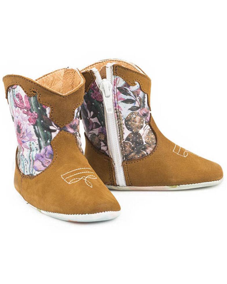Tin Haul Infant Girls' Cactilicious Boots, Tan, hi-res