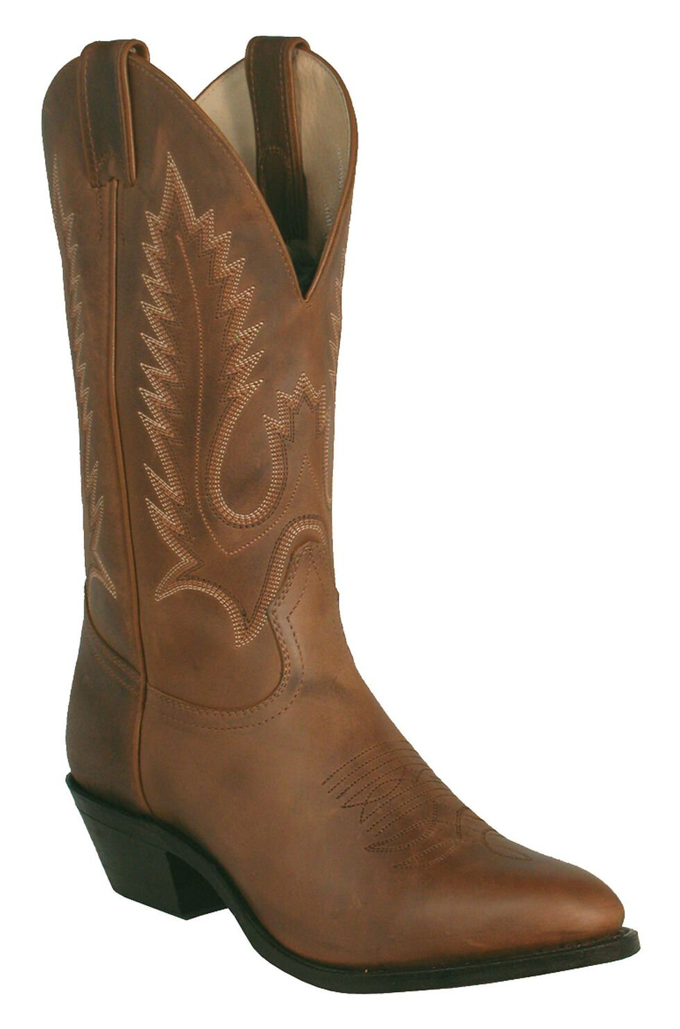 Boulet Challenger Cowboy Boots - Medium Toe, Golden Tan, hi-res