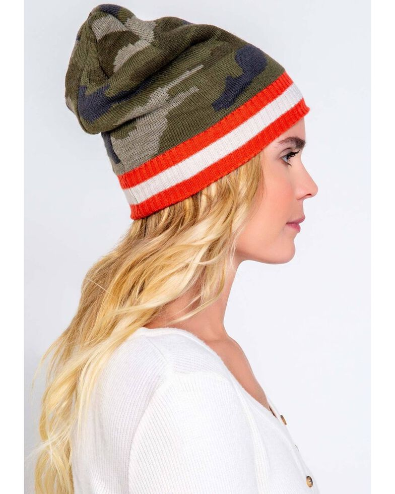 PJ Salvage Women's Leopard Knit Beanie , , hi-res