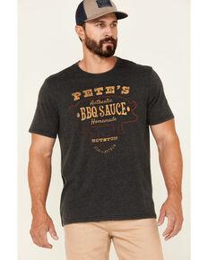 Flag & Anthem Men's Charcoal Burnout Pete' BBQ Graphic Short Sleeve T-Shirt, Charcoal, hi-res