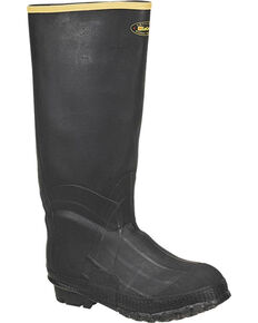LaCrosse Men's ZXT Knee Insulated Rubber Boots - Round Toe, Black, hi-res