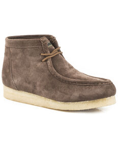 Roper Women's Performance Gum Sole Chukka Shoes - Moc Toe, Brown, hi-res