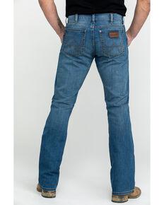Wrangler Retro Men's Beasley Slim Boot Jeans , Blue, hi-res