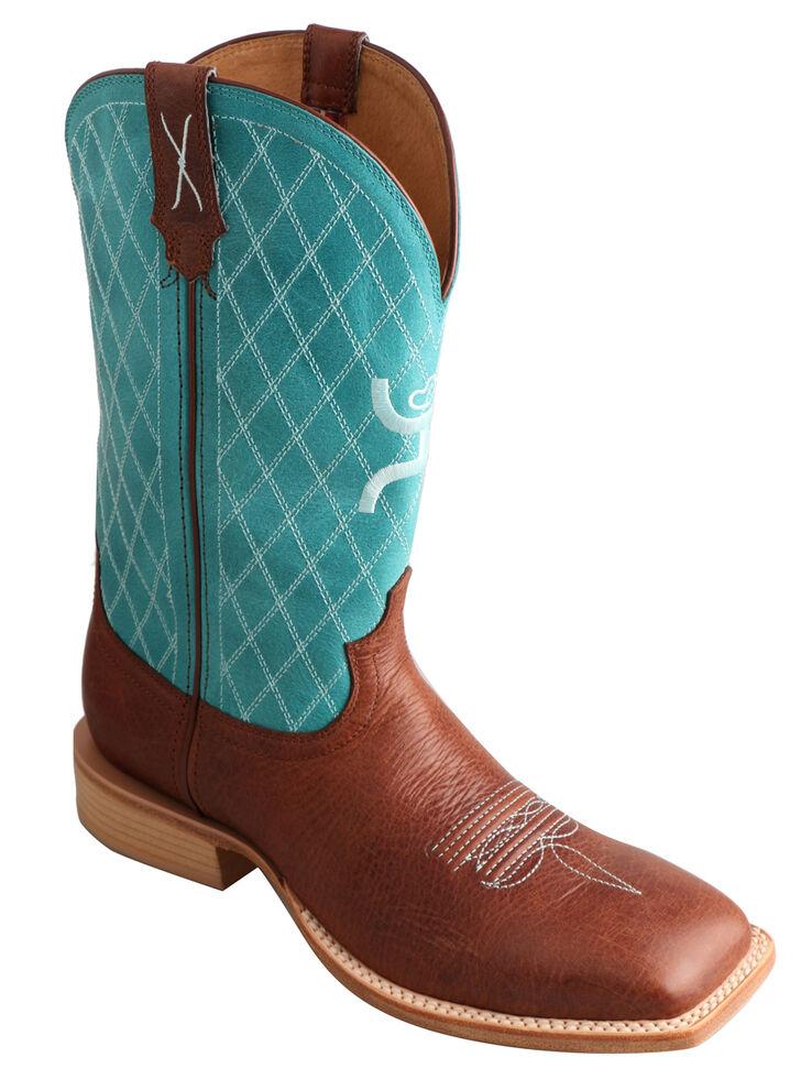 82b84b6064bf3 Twisted X Men's Hooey Cowboy Boots - Square Toe