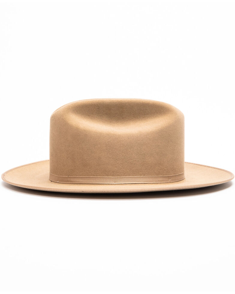 Stetson Men's Open Road Western Felt Hat , Tan, hi-res