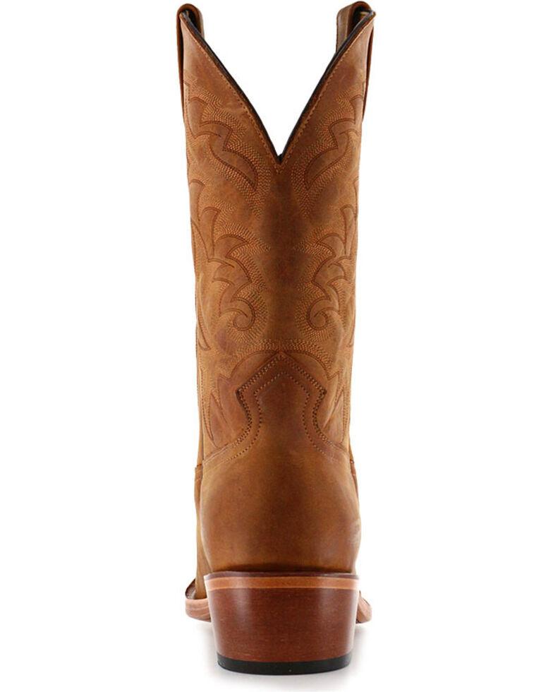 9292909c0 Zoomed Image Moonshine Spirit Men's Crazy Horse Vintage Western Boots - Square  Toe, Brown, hi-