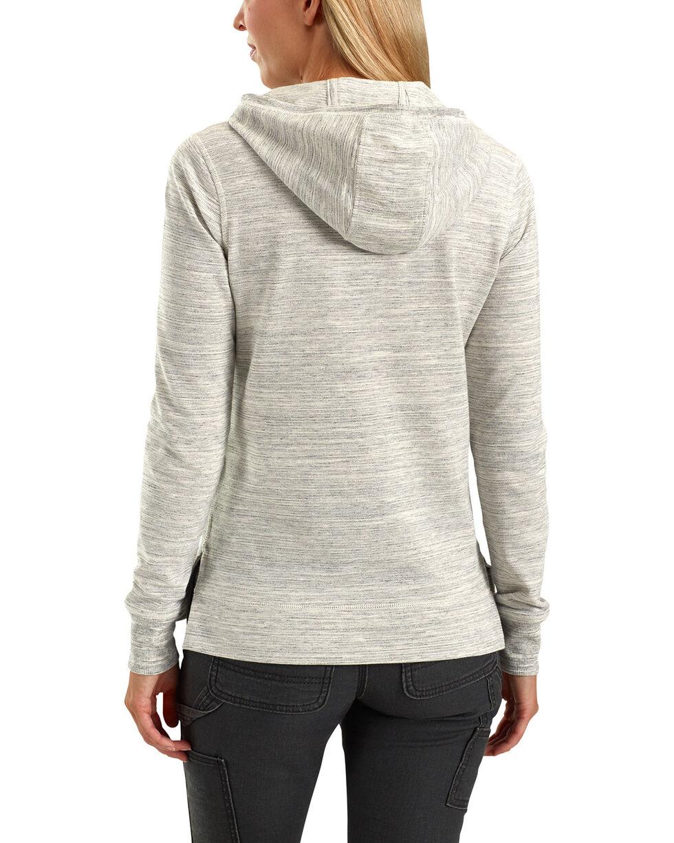 Carhartt Women's Cream Norwalk Hoodie Shirt Jacket, Cream, hi-res