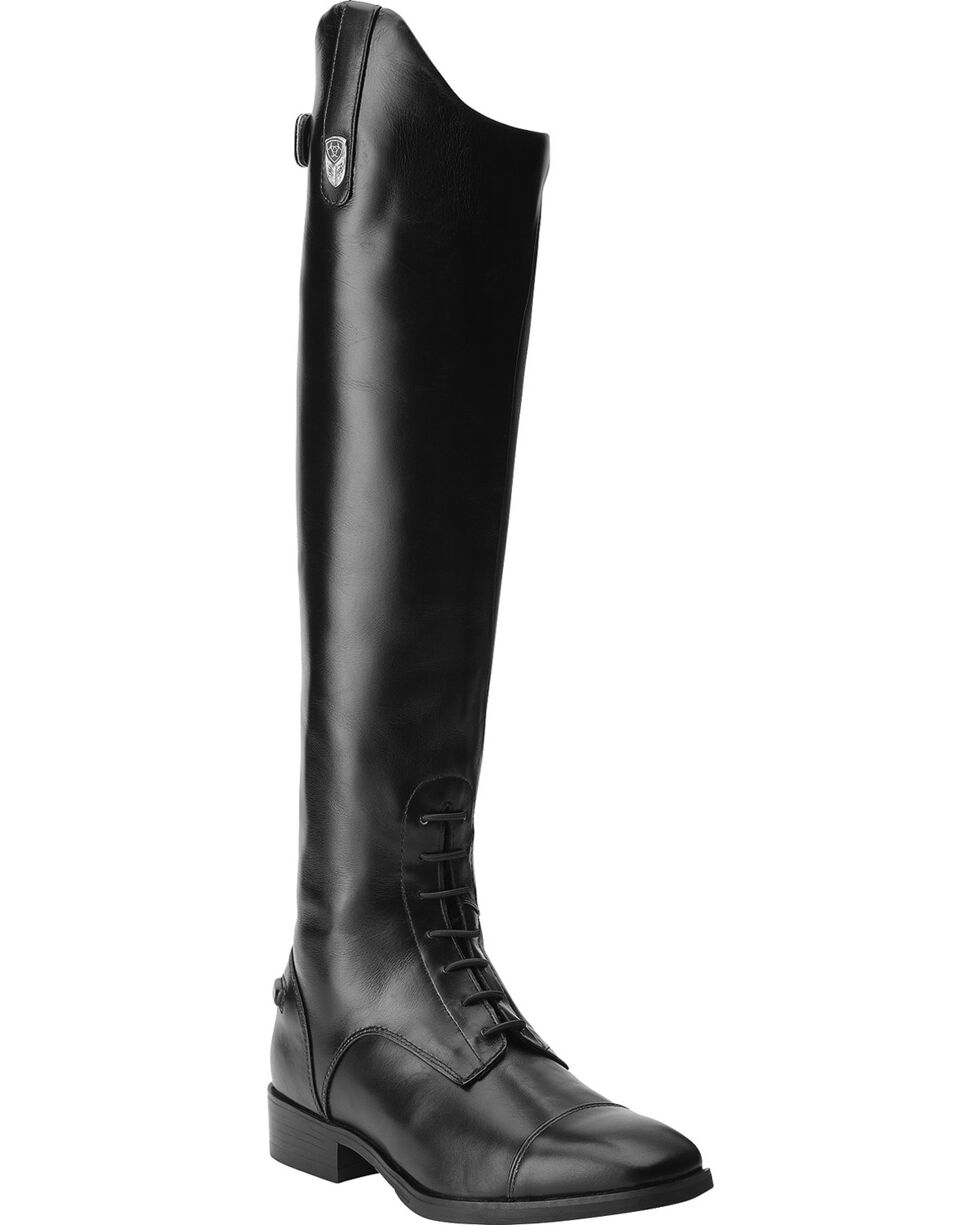 Ariat Women's Monaco Field Zip Riding Boots, Black, hi-res