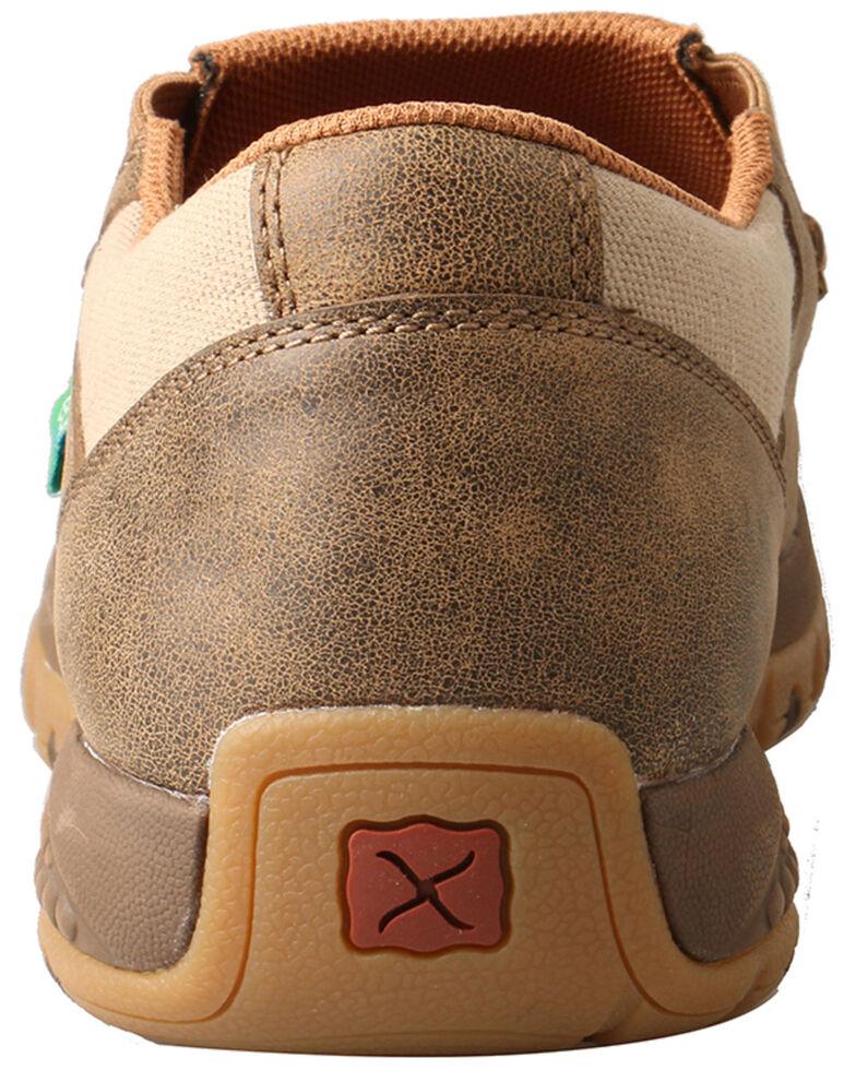 Twisted X Men's CellStretch Driving Shoes - Moc Toe, Tan, hi-res