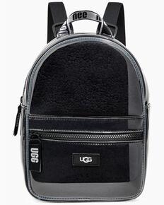 UGG Women's Dannie Clear Mini Backpack, Black, hi-res