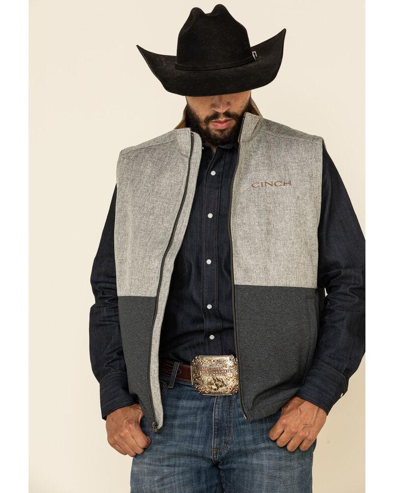 Cinch Men's Multi Textured Bonded Concealed Carry Vest , Multi, hi-res