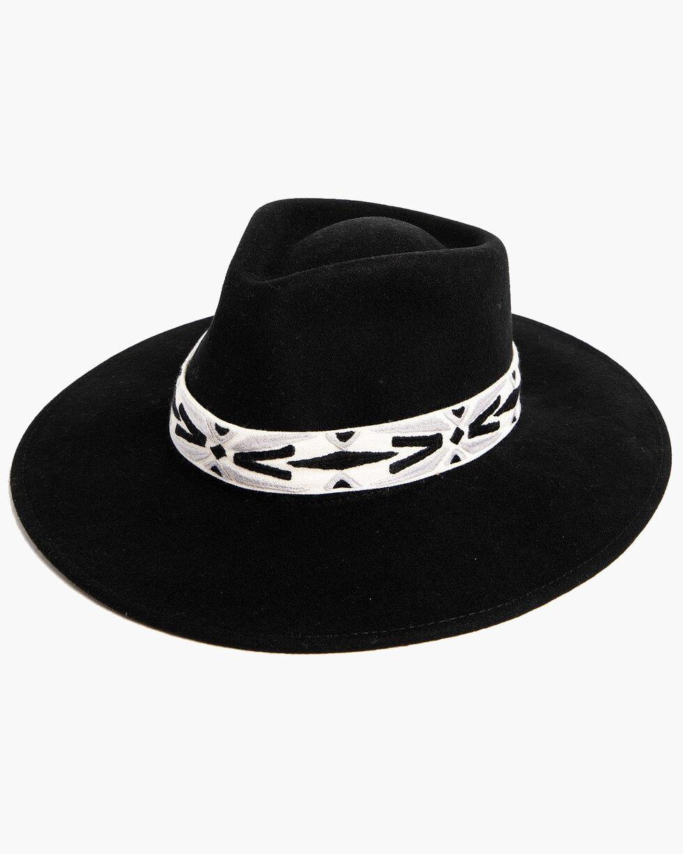 ále by Alessandra Women's Luna Hat , Black, hi-res
