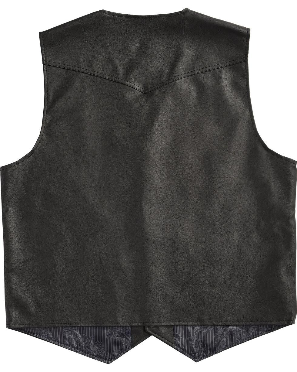 Cody James Men's Black Deadwood Vest , Black, hi-res