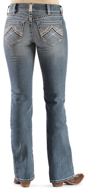 Ariat Women's Rainstorm Real Riding Jeans, Denim, hi-res