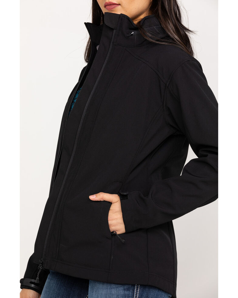 Powder River Outfitters Women's Performance Softshell Jacket, Black, hi-res
