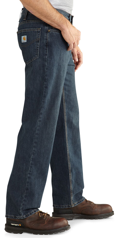 Carhartt Holter Relaxed Fit Straight Leg Jeans, Med Stone, hi-res
