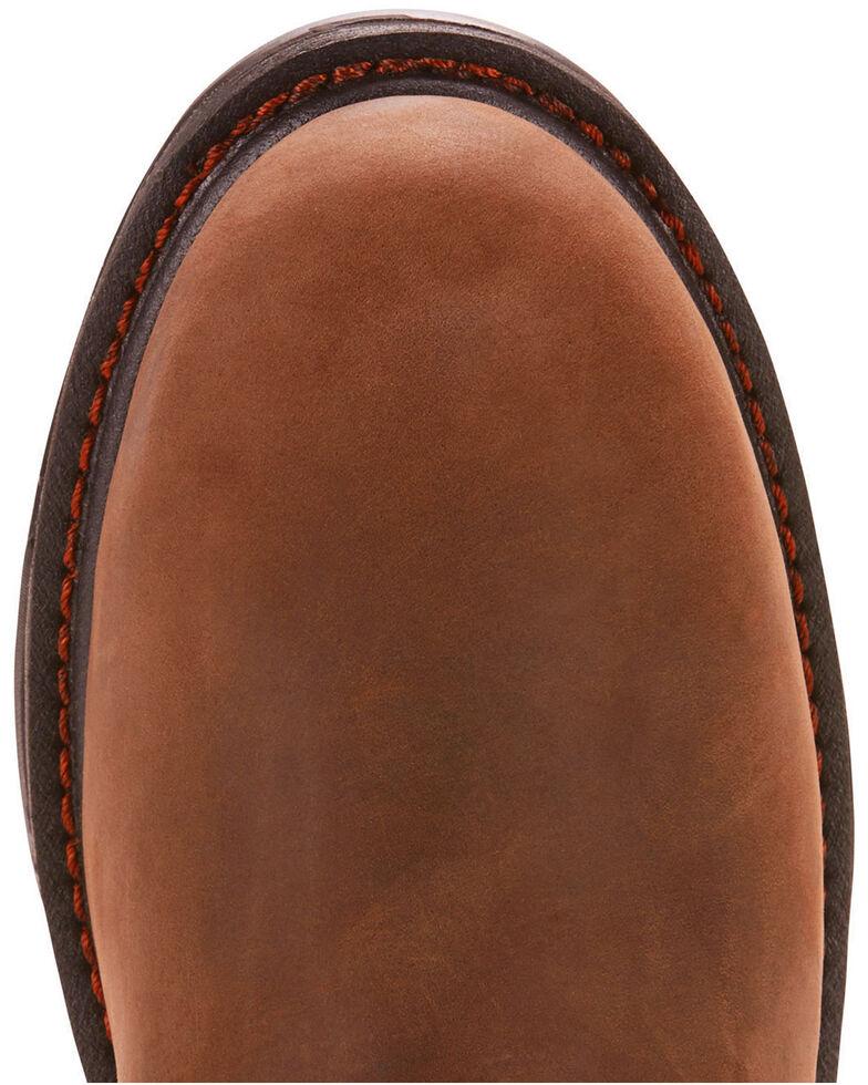 Ariat Men's Brown Workhog XT Wellington H20 Boots - Carbon Toe , Brown, hi-res
