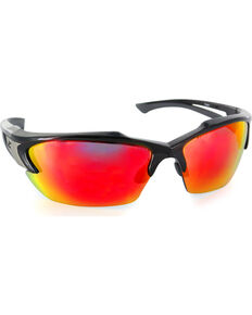 Edge Eyewear Khor Aqua Percision Safety Sunglasses, Black, hi-res