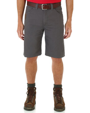 Wrangler Men's RIGGS WORKWEAR® Technician Shorts , Charcoal Grey, hi-res