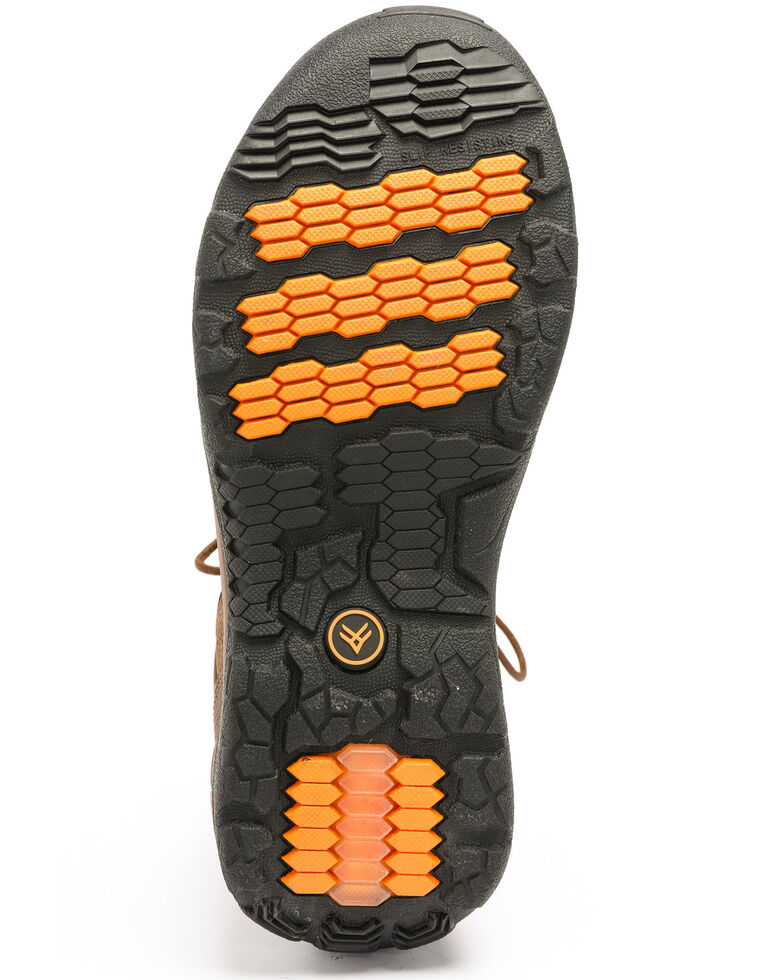 Hawx Men's Axis Hiker Boots - Composite Toe, Brown, hi-res
